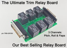 The Ultimate TRB & Hub !  25-Pin D-sub Connectors